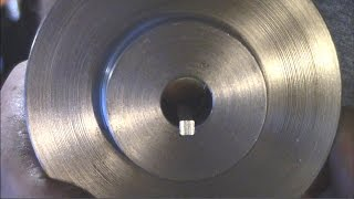 Pulley Keyway - Trying Lathe Keyway Tool, and Broaching to Complete