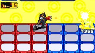 Megaman Battle network 5: Colonel Army folder (Colonel Soul abuse)