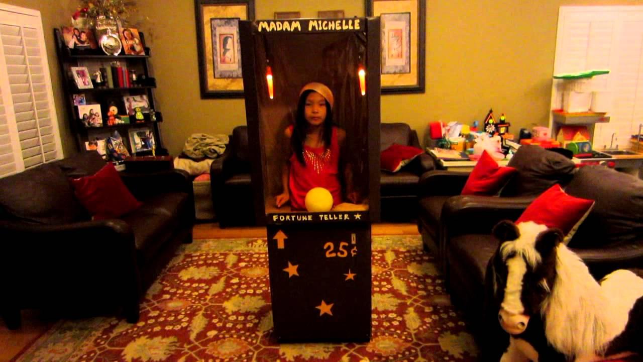 cool homemade fortune teller machine halloween costume