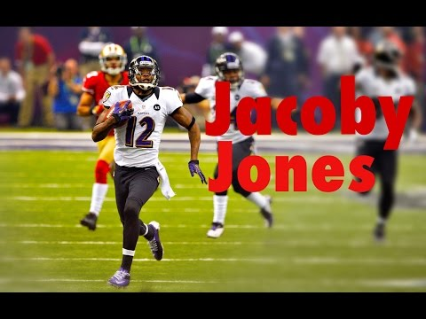 Jacoby Jones Highlights || The forgotten hero of Baltimore || HD ||