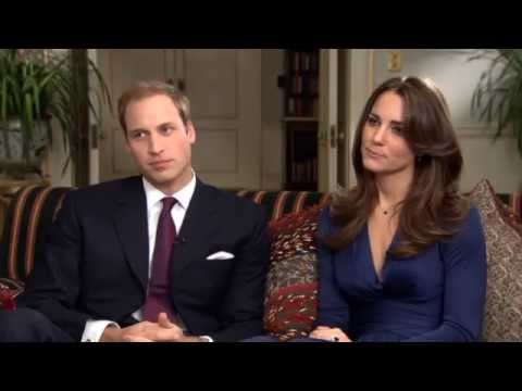 William and Kate unseen interview footage