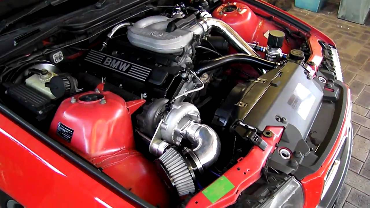Bmw E36 318i Turbo Youtube