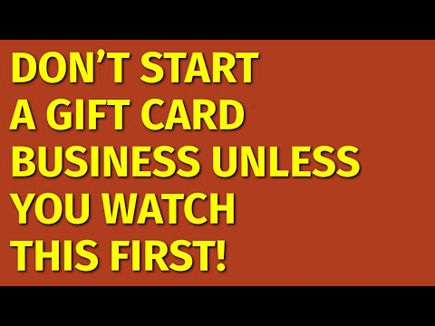 How To Start A Gift Card Business | Including Free Gift Card Business Plan Template