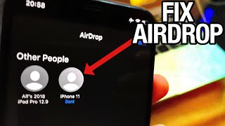 How To FIX AirĎrop NOT Working! (Stuck On Waiting)