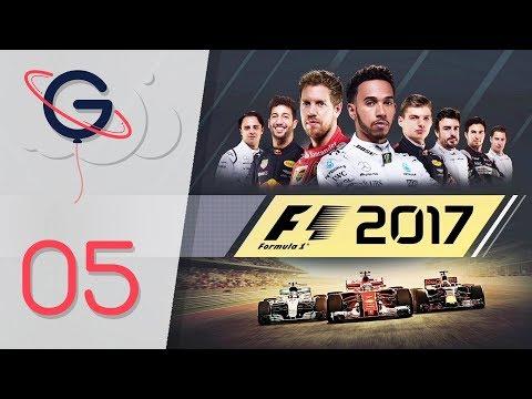 F1 2017 : MODE CARRIÈRE FR #5 - Problème mécanique au GP de Bahrein !