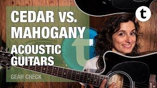 Cedar vs Mahogany | Acoustic Guitar Comparison | Thomann