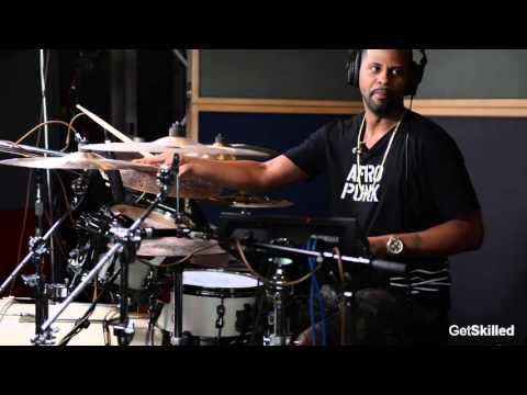 Lil John Roberts Breaks Down 7779311 on Drums  GetSKilled