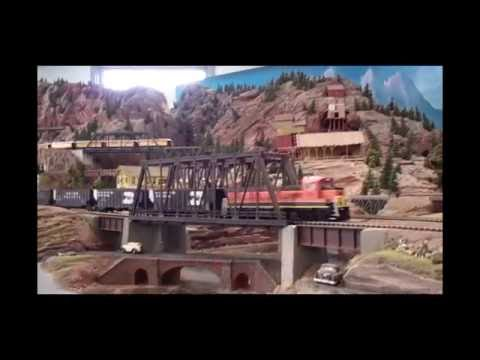 Nebraska Central Railway: HO Model Railroad: Scenes & Cab Rides.