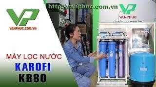 Máy lọc nước bán công nghiệp Karofi KB80 Công suất lọc 80(lít/giờ)