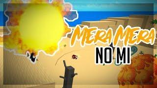MERA MERA NO MI! | One Piece Millenium | ROBLOX