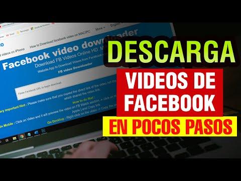 Como descargar Videos de Facebook 2021 pc HD | bajar vídeos de facebook pc