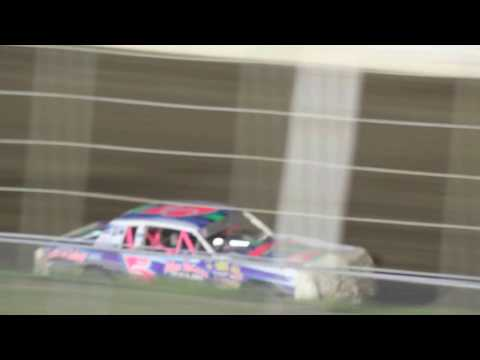 MVI 6192   I 80 SPEEDWAY 4/21/2017  STOCK CAR FEATURE PART #1