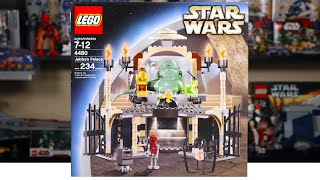 LEGO Star Wars 4480 JABBA'S PALACE Review! (2003)