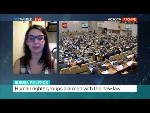 Russian law on domestic violence: Interview with Anna Rivina