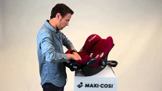 Maxi-Cosi l CabrioFix car seat l How to put the cover on