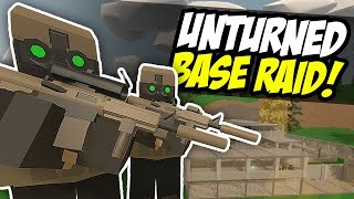 SECRET MILITARY BASE RAID - Unturned PVP (Spec Ops RP)