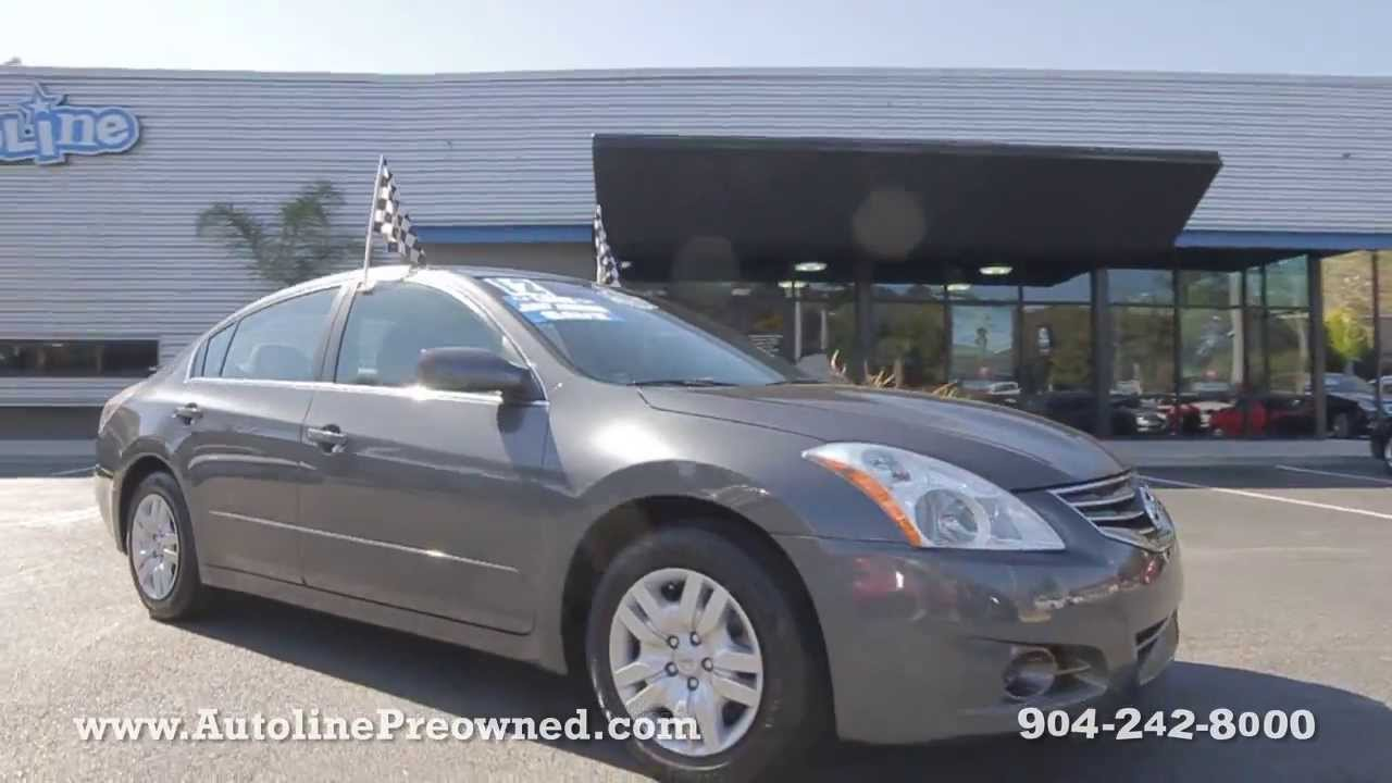 2012 Nissan Altima 2.5 S At Autoline Preowned For Sale Used Test Drive  Review Jacksonville
