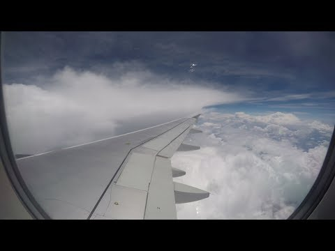 Flying Time Lapse - Travel Day (California to Arkansas)