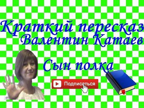 Краткий пересказ Валентин Катаев