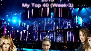 eurovision song contest 2015 my top 40 week 3
