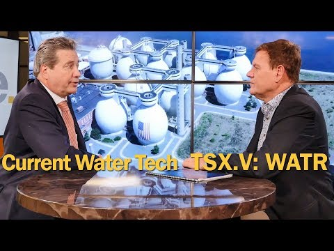 Current Water Technologies is Using Their Patents to Clean Public Water Around the World