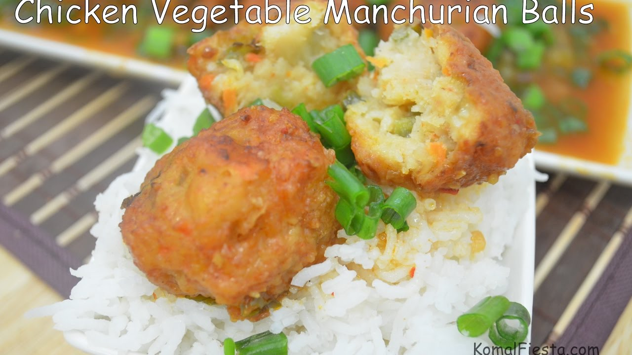 Indo Chinese Recipes Chicken Manchurian