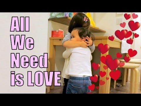 All We Need is LOVE - November 14, 2015 -  ItsJudysLife Vlogs