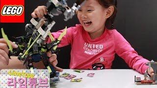레고 닌자고 70737 타이탄 로봇 전투 장난감 놀이 LEGO NINJAGO TITAN ROBOT BATTLE Unboxing & Review! Toys おもちゃ 라임튜브