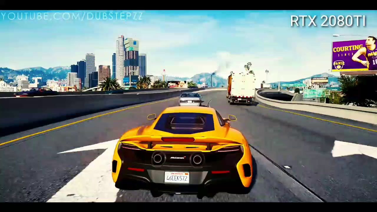 ►GTA 5 GEFORCE RTX™ 2080 Ti [Ray Tracing] upscaled Next-Gen Real Life  Graphics!