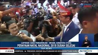 Hadiri Perayaan Natal, Jokowi Ajak Umat Kristiani Menjaga Persatuan