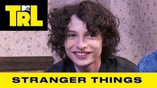 The 'Stranger Things' Cast Reveal On-Set Secrets | TRL Weekdays at 4pm