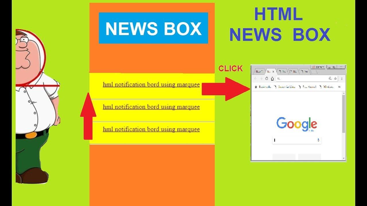 html news slider | html news box tutorial | HOW TO CREATE HTML NEWS BOX