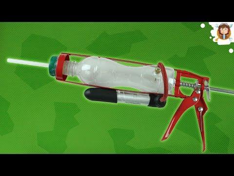 How to make an Air Gun - Airsoft Rifle with a Bottle