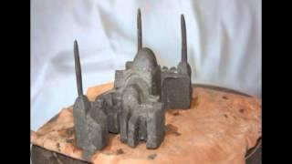Clay Scal Model of Hagia Sofia
