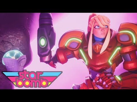 REGRETROID - Starbomb 3D Animated Music Video (by Antony Manley)