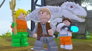 LEGO Dimensions - Jurassic World Adventure World 100% Guide (All Collectibles)