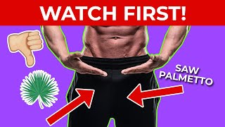 Low Libido? Saw Palmetto Side Effects (Hair Loss) Erectile Dysfunction DHT Blocker Dosage Results