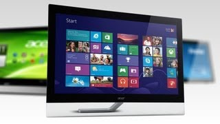 Test: Touchscreen-Monitore für Windows 8