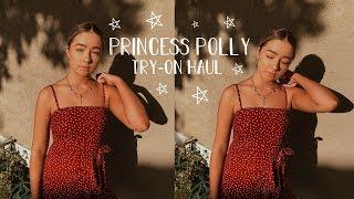 $600 PRINCESS POLLY TRY-ON HAUL | McKenzie Luskey