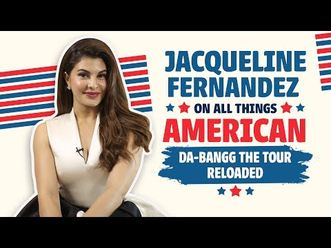 Jacqueline Fernandez on All Things She Loves | DA-BANGG (The Tour - Reloaded) thumbnail