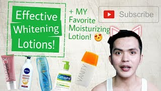 5 Best Whitening Lotions Available in the Philippines