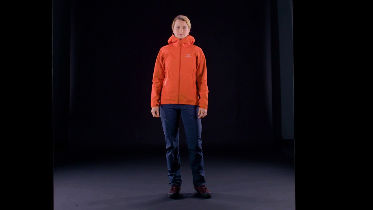 11372602c38 Arc'teryx - Women's Beta SL Jacket - Fiesta - YouTube
