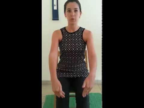 סדרת תרגילים לשחרור גב עליון שכמות ועורף.