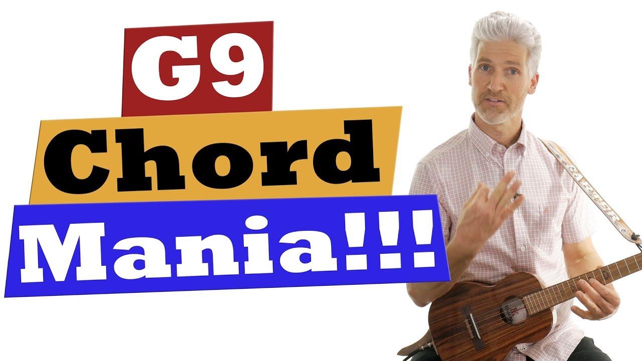 Ukulele Chord Mania!!! G9 Chord #1