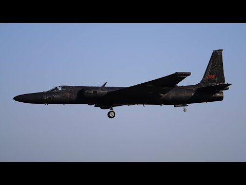 U-2S Dragonlady arrival at California Capital Airshow 2017