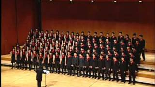 Let My People Go(Spititual) - National Taiwan University Chorus