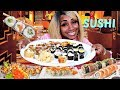 Sushi Mukbang Veggie Style