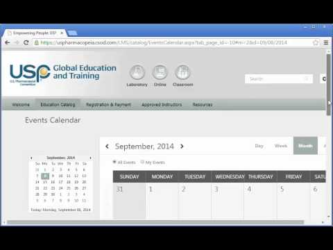 How to Use USP's New Learning Management System