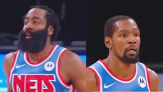 James Harden Shocks With Kevin Durant In Nets Debut! Nets vs Magic