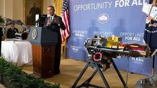 President Obama Speaks on Manufacturing Innovation